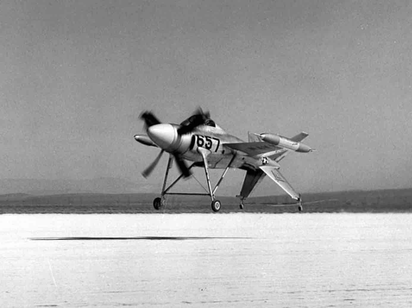 Le Saumon Lockheed XFV 1