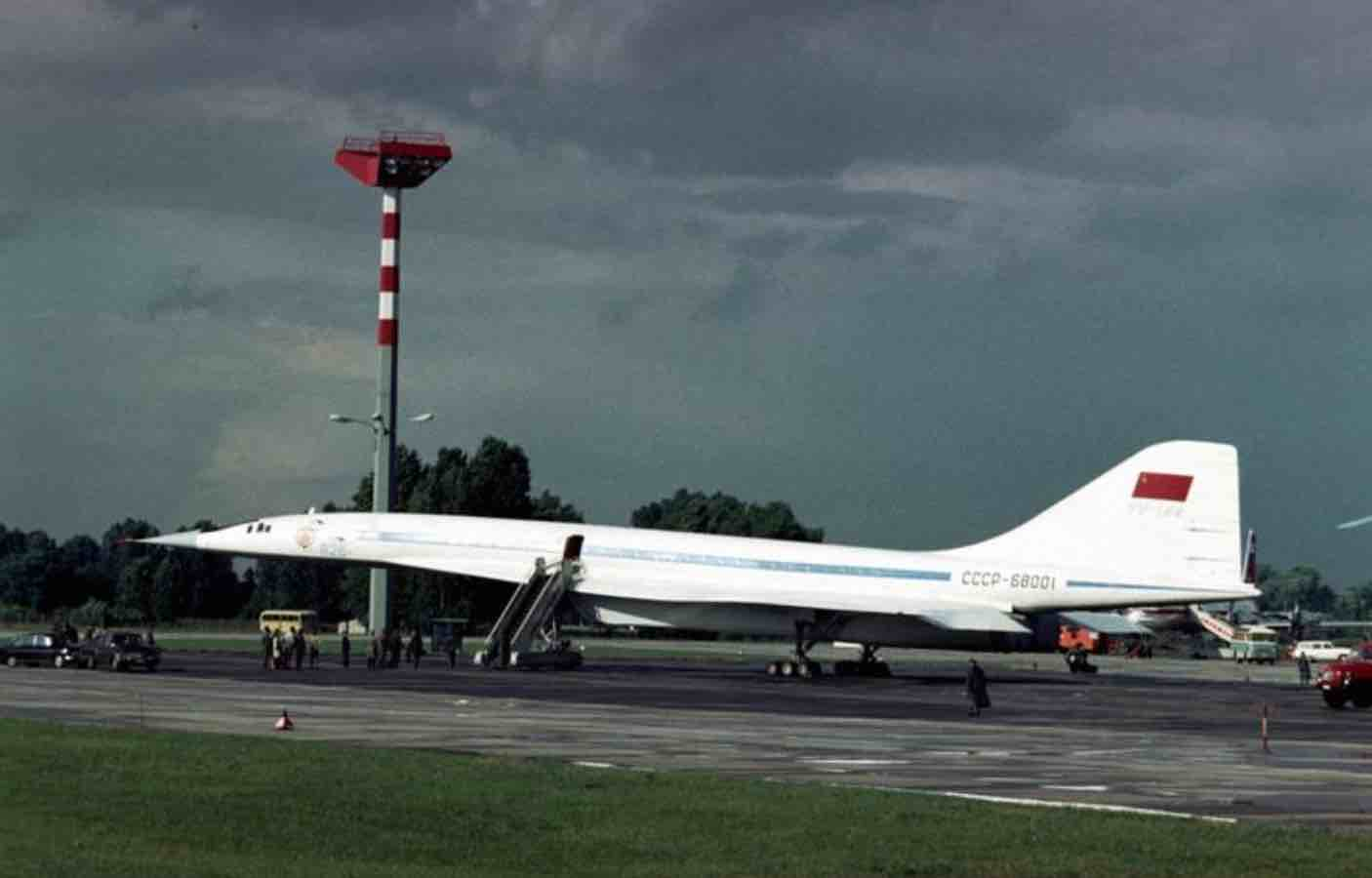 Le Tupolev Tu 144