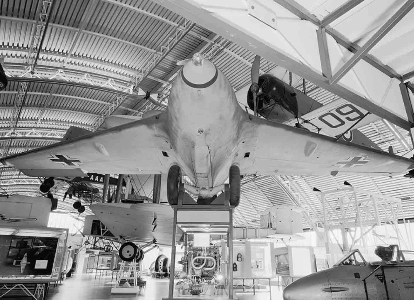 Le Messerschmitt Me 163 Komet
