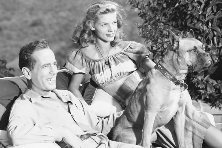 Humphrey Bogart And Lauren Bacall – Boxer