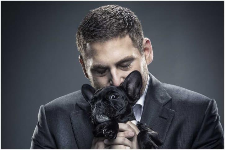Jonah Hill – Golden Retriever And French Bulldog