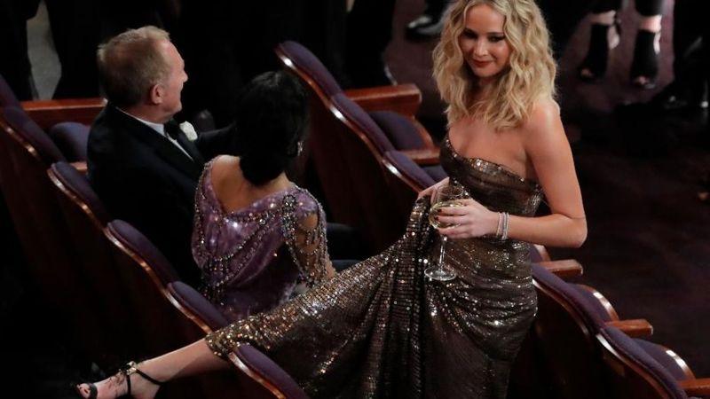 Jennifer Lawrence Skipped The Steps