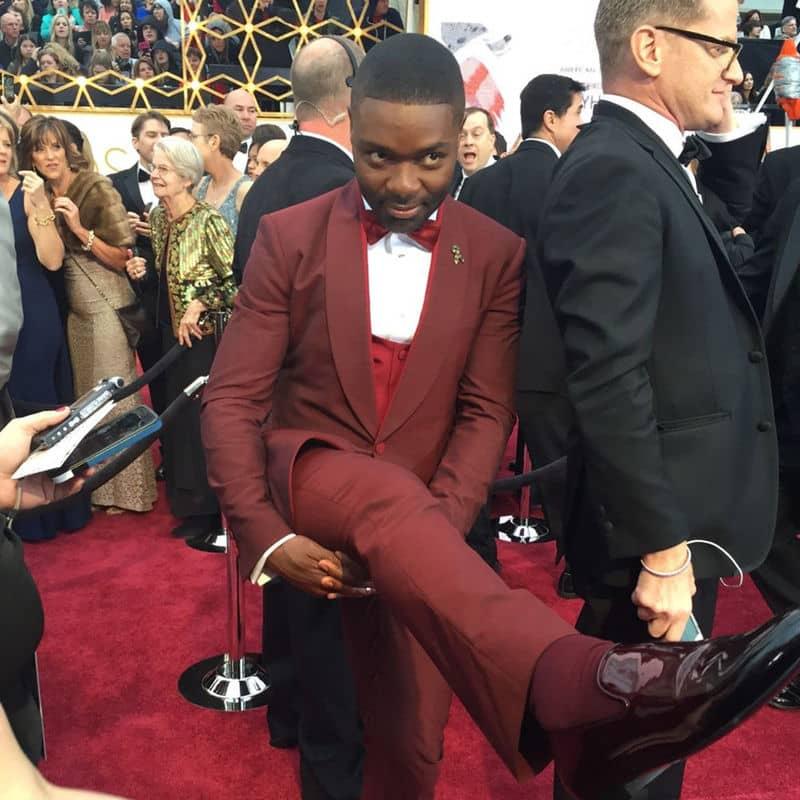 David Oyelowo Showing Off His Socks
