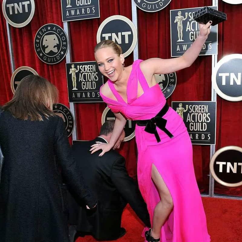 Jennifer Lawrence Has Struck Again
