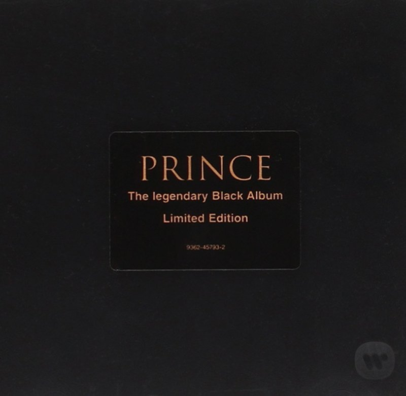 Prince's 1994 The Black Album