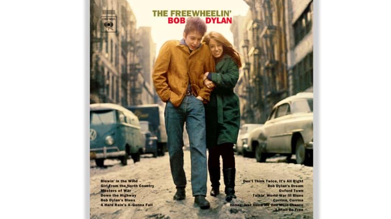 Bob Dylan's 1963 The Freewheelin' Bob Dylan