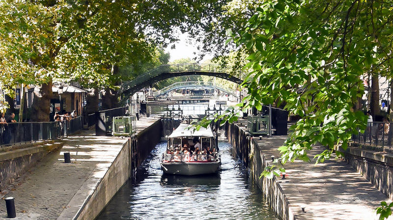 In Paris, A 200-Year-Old Canal Was Drained, And The Public Was Ecstatic