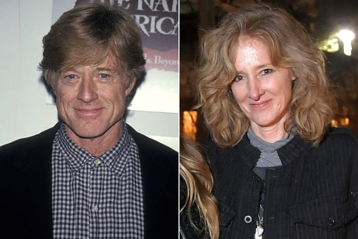 ROBERT REDFORD & SHAUNA REDFORD AT AGE 56