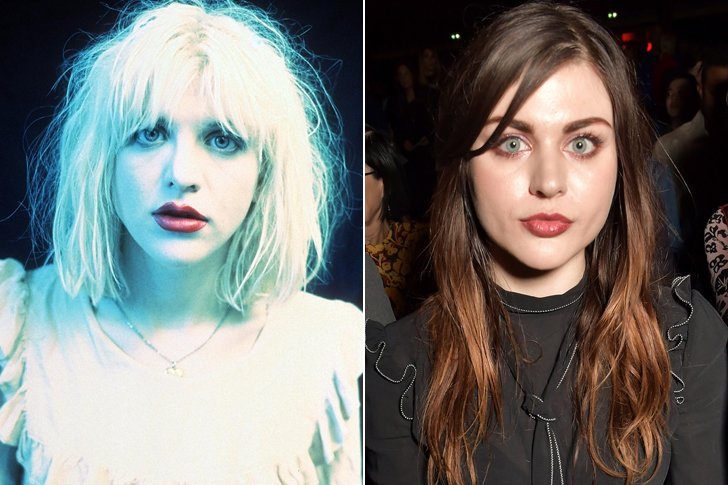 COURTNEY LOVE & FRANCES BEAN COBAIN AT AGE 25