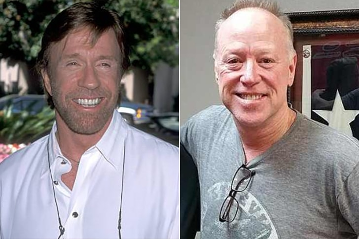 CHUCK NORRIS & MIKE NORRIS AT AGE 58