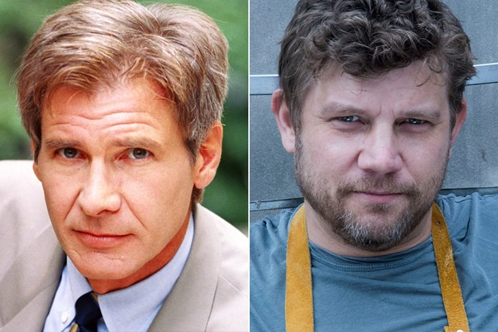 HARRISON FORD & BEN FORD AT AGE 51