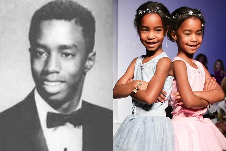 P. DIDDY & JESSIE JAMES COMBS, D'LILA STAR COMBS AT AGE 11
