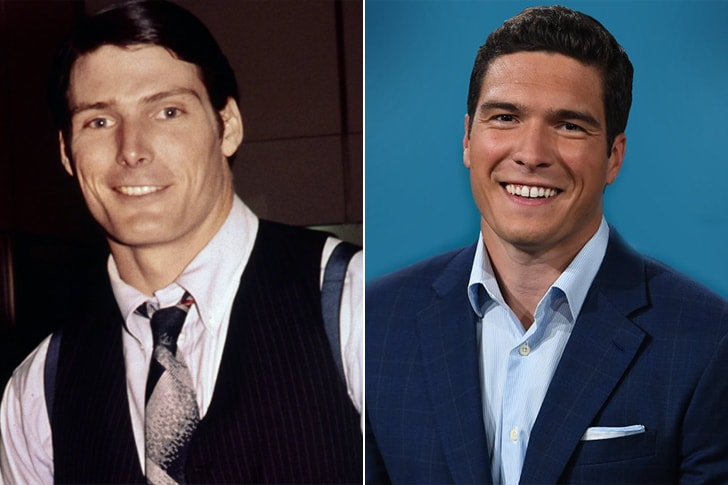CHRISTOPHER REEVE & WILL REEVE AT AGE 25