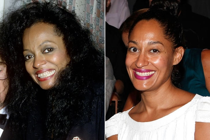 DIANA ROSS & TRACEE ELLIS ROSS AT AGE 39