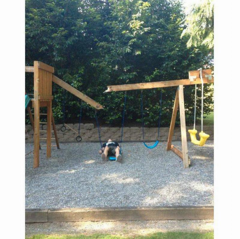 The Swing Set Was Made For Children