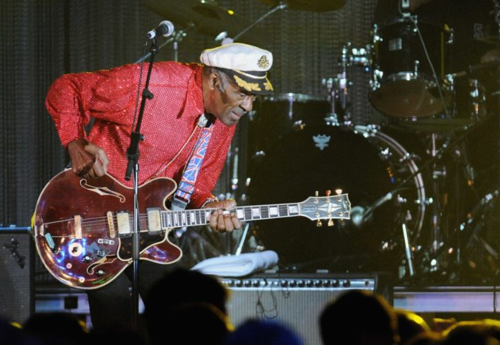 'Johnny B. Goode' — Chuck Berry