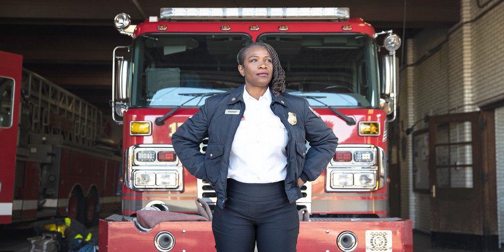 This Incredible Firefighter Is Paving The Way For Young Aspiring Servicewomen