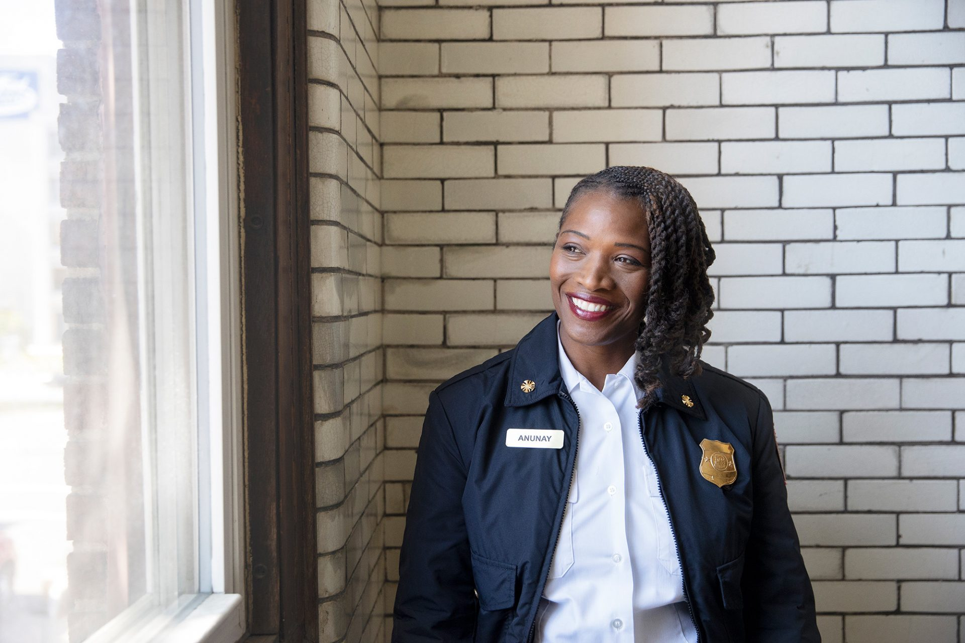 Her Job As Deputy Fire Chief