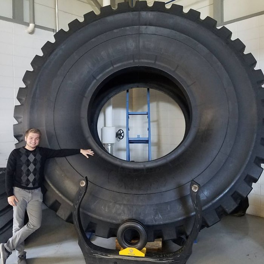 The Biggest Tyre Vs. The Smallest