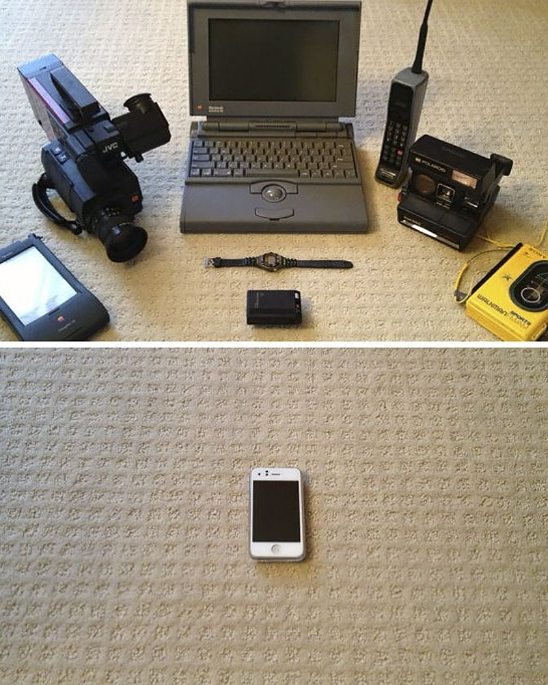 Video Making In The '90s Vs. Present Day
