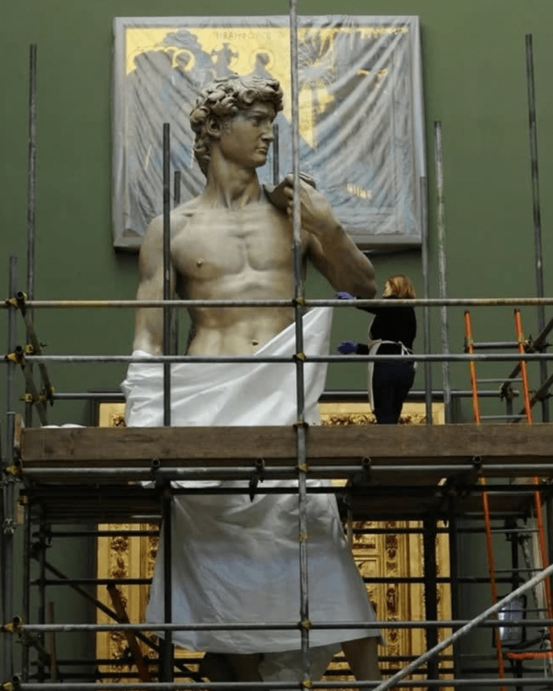 The Real Height Of The Famous Statue Of David
