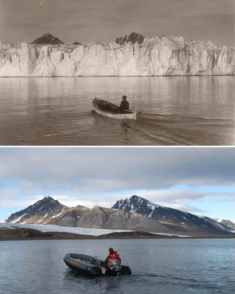 The Condition Of The Arctic A Century Ago And Now
