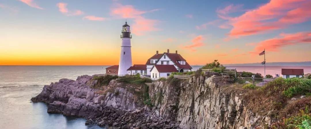 (Tie) Maine