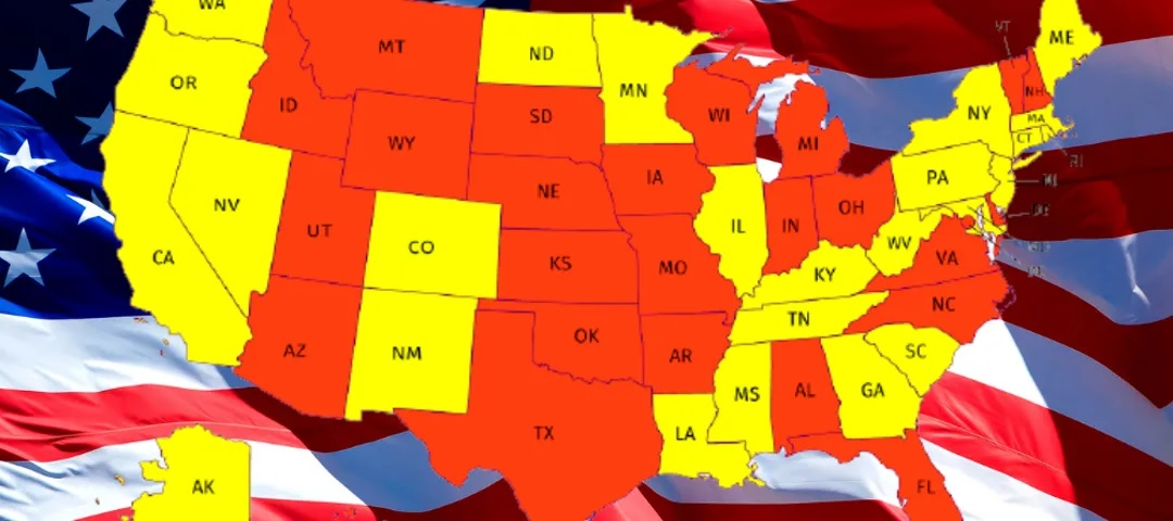 Find Out Which US States People Want To Leave And The Ones They Move To