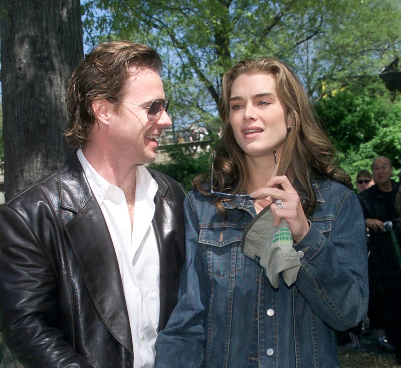 Brooke Shields e Chris Henchy