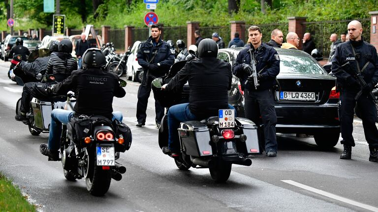 The Police Force And Hells Angels