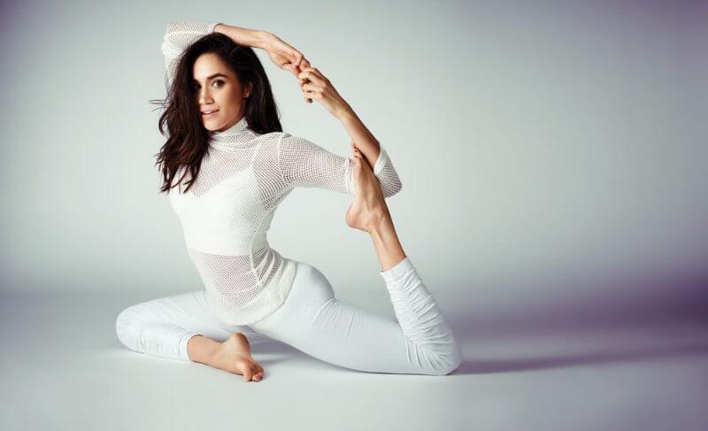 Her Yoga Practice