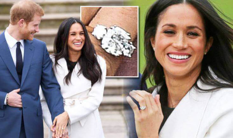 Her Engagement Ring Comes With Diamonds Owned By Diana