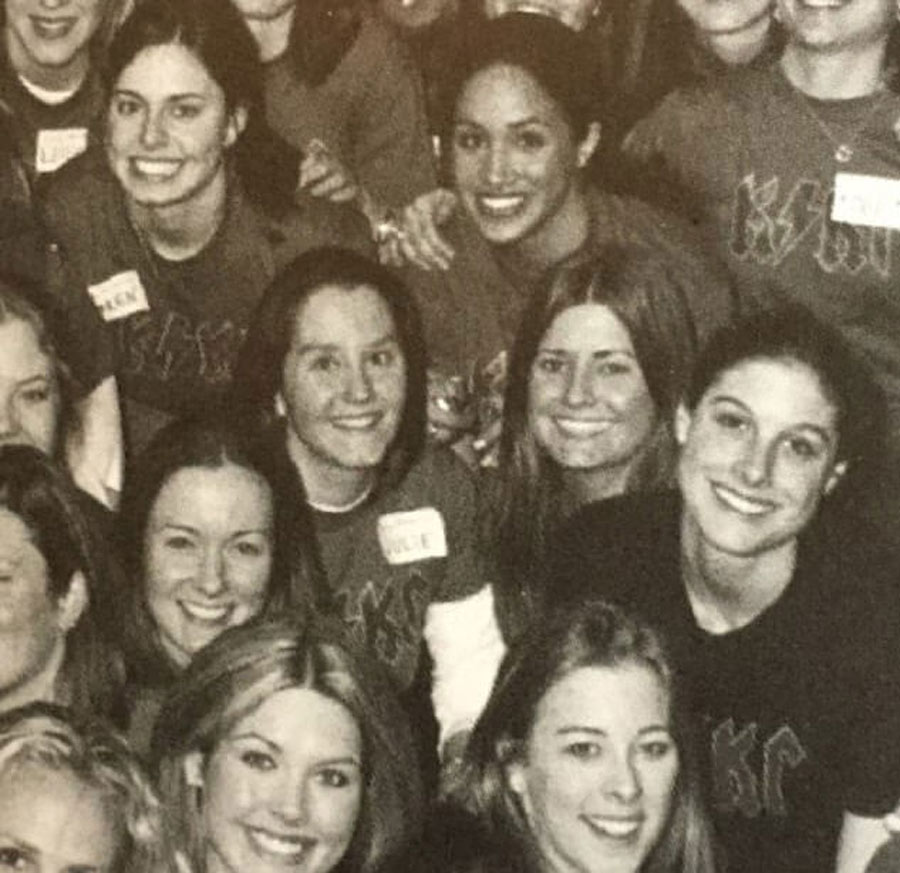 A Photo With Her Sorority Sisters