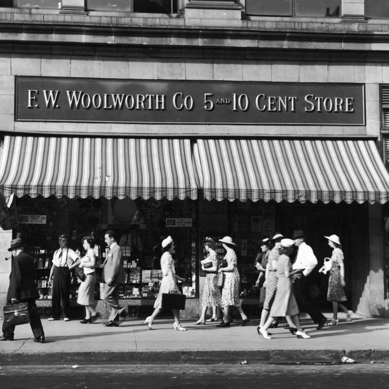Shopping At The Five And Dime Store