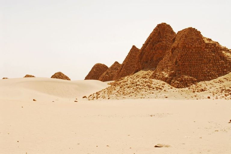 There Are Many Pyramids At Nuri
