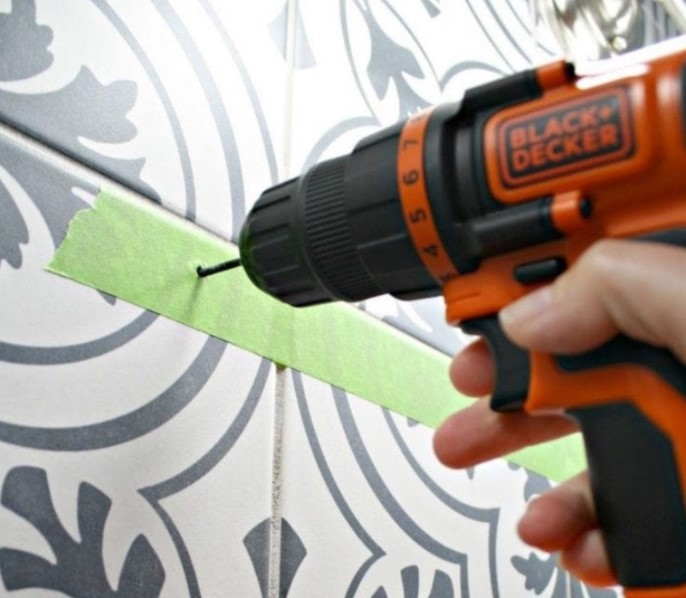 How To Drill Into Ceramic Tiles