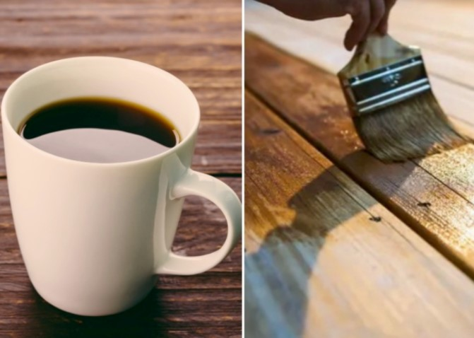 Coffee Can Be Used To Varnish Your Wooden Furniture