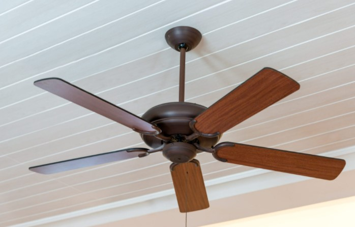 Make Sure To Keep An Eye On The Ceiling Fan Rotation