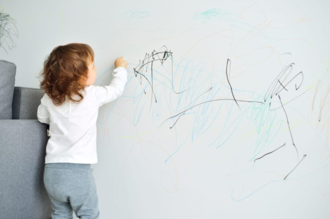 WD 40 Can Help Remove Marker Stains On The Walls