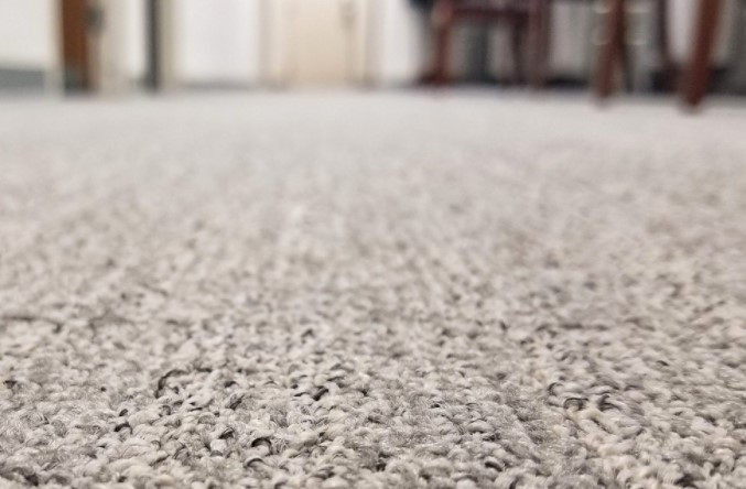 Use Ice Cubes To Get Rid Of Carpet Dents