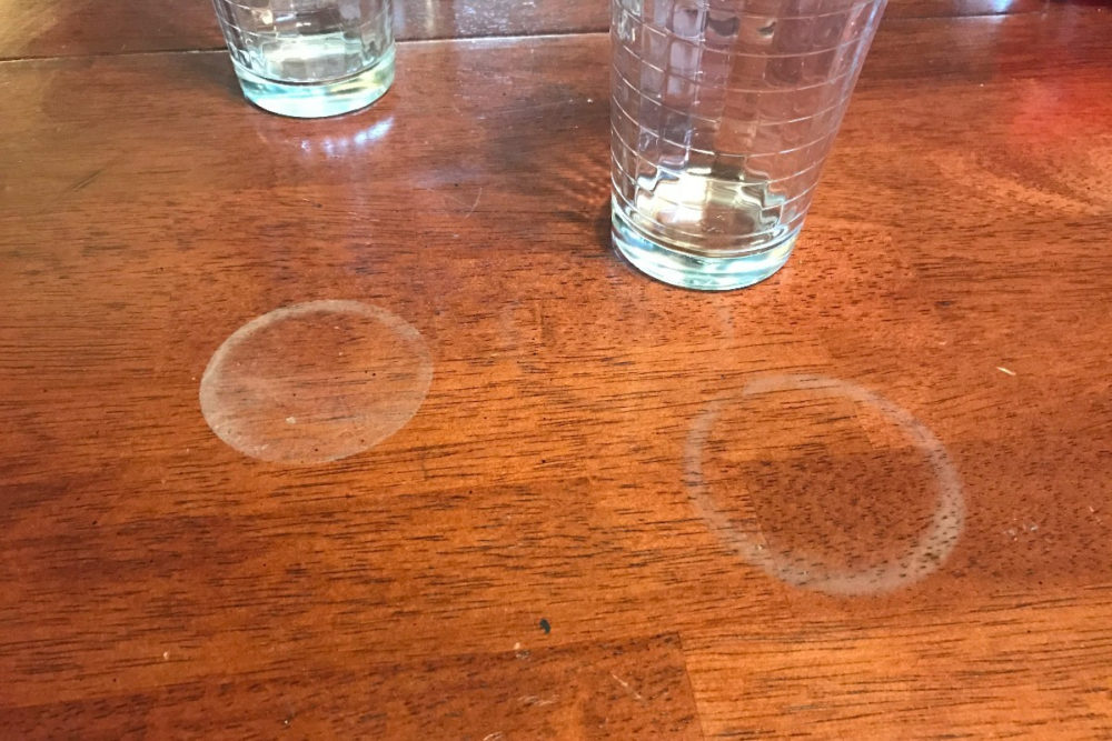 Make Water Rings Disappear From Furniture