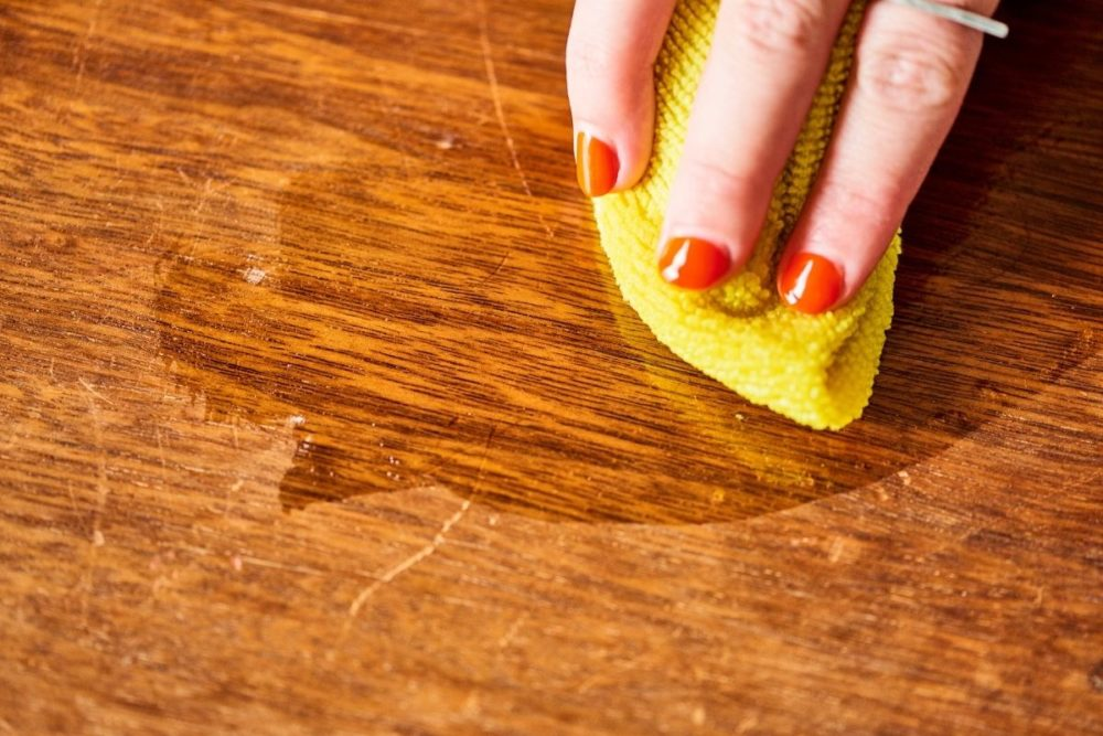 Buff Out Imperfections In Wooden Furniture
