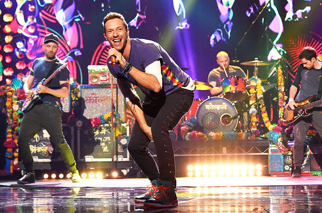 Best Coldplay, 2016