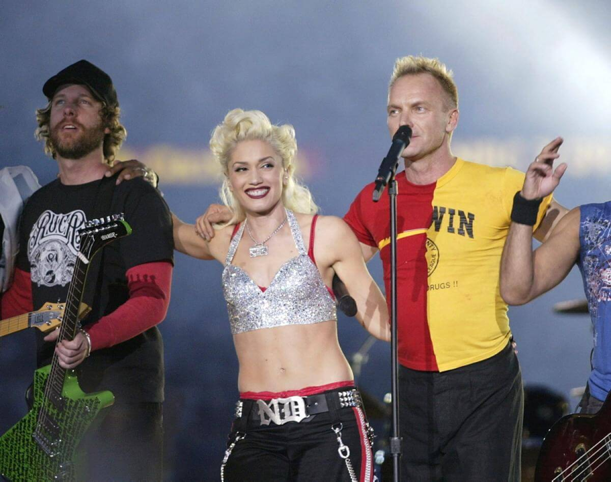 Worst Shania Twain, Sting, And No Doubt, 2003