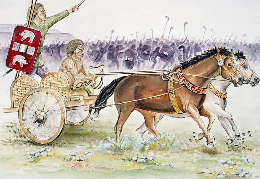 Celtic Chariot, Iron Age, (c1990 2010)