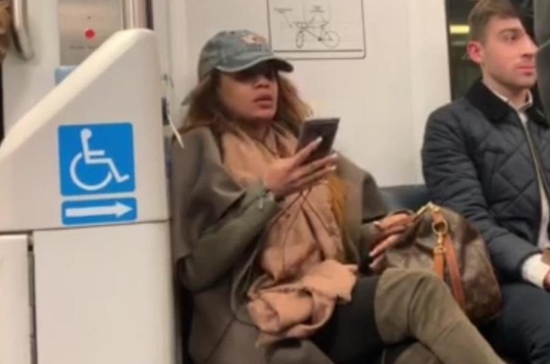 This Woman Learned Her Lesson After Refusing To Let Anyone Sit Beside Her On The Metro