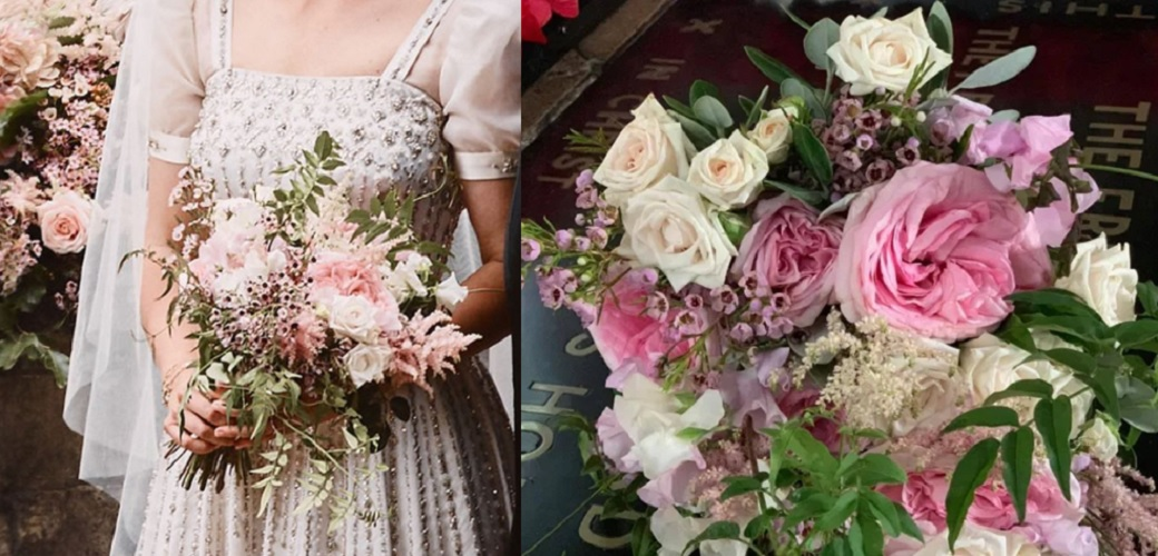 As For Her Wedding Bouquet