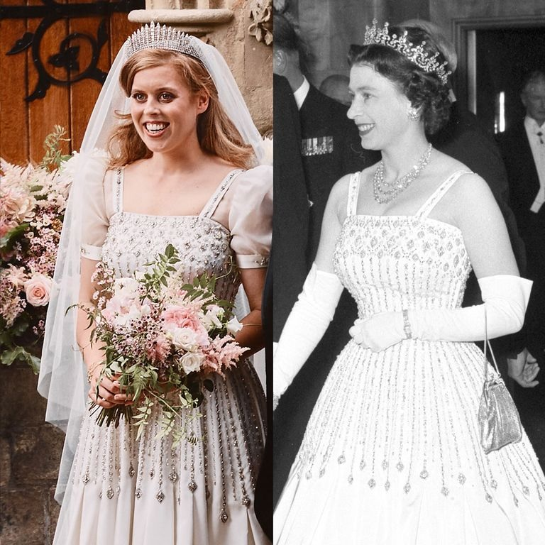 Her Vintage Gown Was An Heirloom