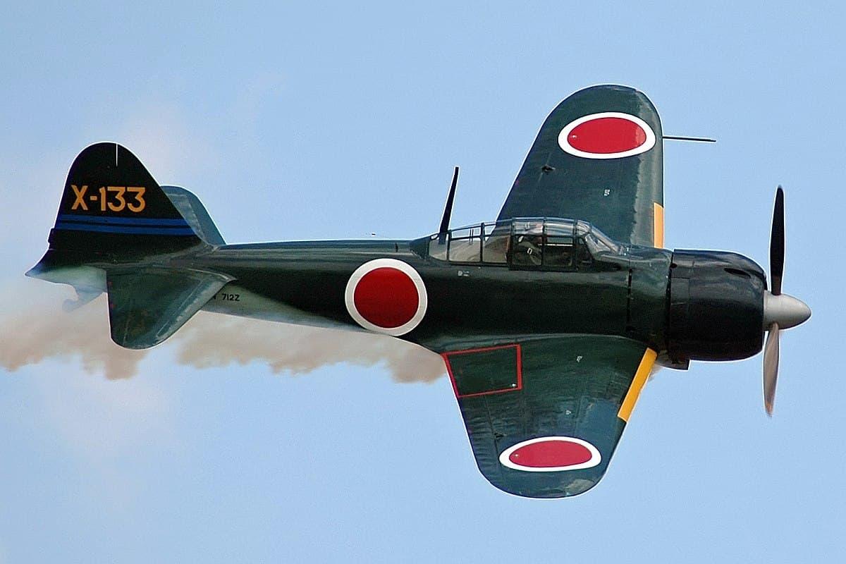 """Mitsubishi A6M """"Zero"""" Resin"""